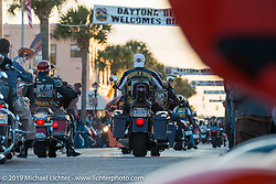 The final Saturday on Main Street during Daytona Bike Week. FL, USA. March 15, 2014.  Photography ©2014 Michael Lichter.