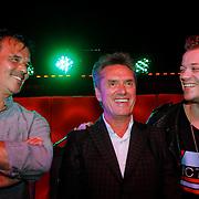 NLD/Amsterdam/20120918 - Cd Box presentatie Doe Maar , Ernst Jansz, Henny Vrienten en Gers Pardoel