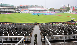 Cape Town.180207  The cricket game between South frica and India is delayed because of rain at Newlands Stadium.Today should be day 3 of the first test between the two countries as south Africa was betting in the second innings.  Picture:Phando Jikelo/Afrian News Agency(ANA)