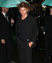 Celebrities at the Tiffany Paper Flowers event in New York City. 03 May 2018 Pictured: Jordan Barrett. Photo credit: MEGA TheMegaAgency.com +1 888 505 6342