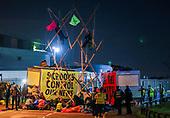 Climate Protestors Blocked 'Printworks UK'