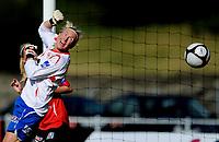 Fotball<br /> 4. September 2010<br /> Toppserien<br /> Arna Idrettspark<br /> Arna Bjørnar v Stabæk 7 - 0<br /> Reidun Seth , Arna-Bjørnar ser ballen gå i nettet bak henne<br /> Foto: Astrid M. Nordhaug