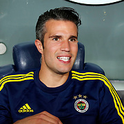 Fenerbahce's Van Persie before their UEFA Champions league third qualifying round first leg soccer match Fenerbahce between Shakhtar Donetsk at the Sukru Saracaoglu stadium in Istanbul Turkey on Tuesday 28 July 2015. Photo by Aykut AKICI/TURKPIX