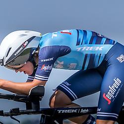 EMMEN (NED) June 16: <br />CYCLING <br />Dutch Nationals Time Trail Women Elite Lucinda Brand