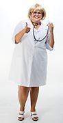 Belo Horizonte_MG, Brasil...Mulher vestida de Dr. Lorca do Zorra Total...A woman imitating Dr. Lorca of the program Zorra Total...Foto: BRUNO MAGALAHES / NITRO
