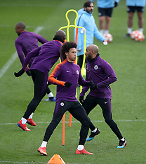 Manchester City Training Session - 19 Feb 2019