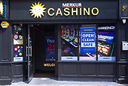 Merkur Cashino high street gambling venue shop, Carr Street, Ipswich, Suffolk, England, UK