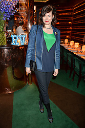 JASMINE GUINNESS at a dinner hosted by Roger Vivier to celebrate The Prismick Denim by Camillle Seydoux held at Casa Cruz, 123 Clarendon Road, London on 17th March 2016.