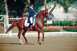 Hester Carl, GBR,  Giorgione<br /> Olympic Games Barcelona 1992<br /> © Hippo Foto - Dirk Caremans<br /> 29/04/2020