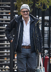 © Licensed to London News Pictures. 04/11/2019. London, UK. DOMINIC CUMMINGS, special adviser to the government of Boris Johnson, is seen arriving at 10 Downing Street in London. A general election has been called on December 12th in an attempt to get a Brexit agreement through parliament. Photo credit: Ben Cawthra/LNP