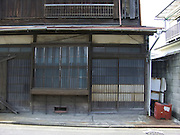 old wooden traditional style Japanese house in Yokosuka