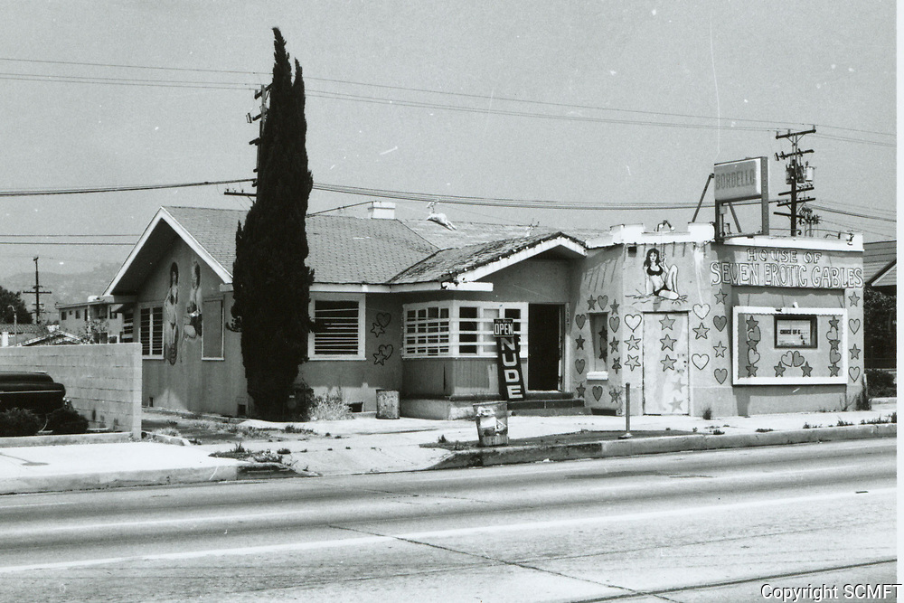 1975 House of Seven Erotic Gables on La Brea Ave.