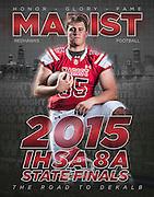 Marist High School 2015 Football Sports Photography. Chicago, IL. Chris W. Pestel Chicago Sports Photographer.