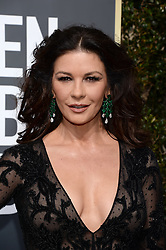 Catherine Zeta Jones attending the 75th Annual Golden Globes Awards held at the Beverly Hilton in Beverly Hills, in Los Angeles, CA, USA on January 7, 2018. Photo by Lionel Hahn/ABACAPRESS.COM