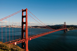 Marin Headlands; sightseeing; Golden Gate Bridge, San Francisco, California, USA.  Photo copyright Lee Foster.  Photo # california108866