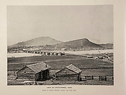 """Chattanooga, Tennessee from The American Civil War book and Grant album : """"art immortelles"""" : a portfolio of half-tone reproductions from rare and costly photographs designed to perpetuate the memory of General Ulysses S. Grant, depicting scenes and incidents in connection with the Civil War Published  in Boston and New York by W. H. Allen in 1894"""