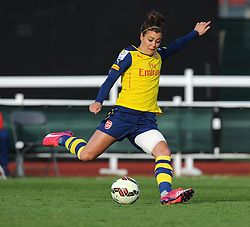 Former academy player Jemma Rose in action for Arsenal Ladies - Photo mandatory by-line: Paul Knight/JMP - Mobile: 07966 386802 - 09/05/2015 - SPORT - Football - Bristol - Stoke Gifford Stadium - Bristol Academy Women v Arsenal Ladies FC - FA Women's Super League
