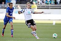 Fotball , 20. april 2013 , Tipppeligaen , Eliteserien<br /> Odd - Molde 1-1<br /> <br /> Mattias Mostrøm , Molde<br /> Steffen Hagen , odd