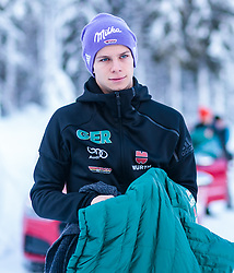 02.01.2018, Seefeld, AUT, FIS Weltcup Ski Sprung, Vierschanzentournee, Innsbruck, im Bild Andreas Wellinger (GER) während eines Medientermins des DSV // Andreas Wellinger of Germany during a Media Event of the German Skijumping Team before the 3rd Stage Insbruck of the Four Hills Tournament of FIS Ski Jumping World Cup at Seefeld, Austria on 2018/01/02. EXPA Pictures © 2018, PhotoCredit: EXPA/ JFK