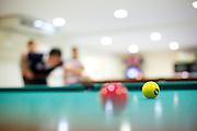 Caete_MG, Brasil...Pessoas jogando sinuca no Hotel Fazenda Taua em Caete, Minas Gerais...Some eople playing snooker at the Taua hotel in Caete, Minas Gerais...Foto: NIDIN SANCHES / NITRO
