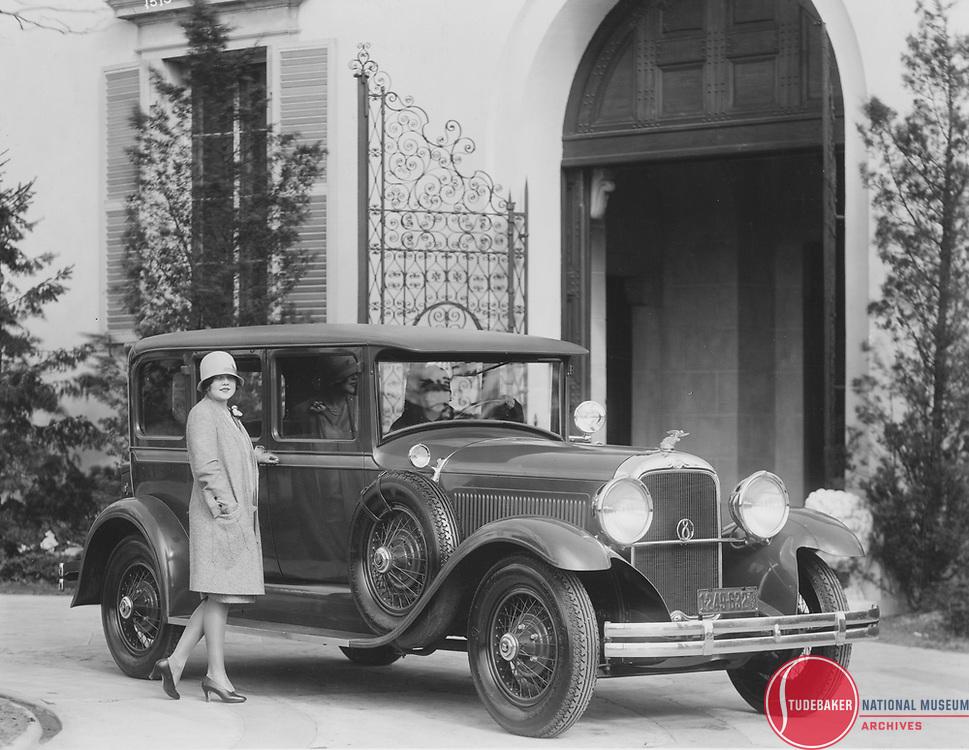 1928 Studebaker President Five-Passenger Sedan.
