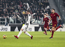 December 23, 2017 - Turin, Italy - Gonzalo Higuain during Serie A match between Juventus v Roma, in Turin, on December 23, 2017  (Credit Image: © Loris Roselli/NurPhoto via ZUMA Press)