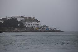UK ENGLAND POOLE 22FEB19 - The Haven Hotel on Sandbanks on the Dorest coast in foggy weather. <br /> <br /> <br /> <br /> Photo by Jiri Rezac / Greenpeace<br /> <br /> <br /> <br /> © Jiri Rezac 2019