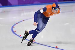 18-02-2018 SCHAATSEN: OLYMPISCHE SPELEN: OLYMPIC GAMES: PYEONGCHANG 2018<br /> Lotte van Beek  op de 500 meter<br /> <br /> Foto: Soenar Chamid