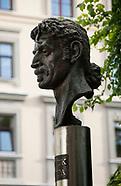 Litwa. Wilno. Pomnik Franka Zappy