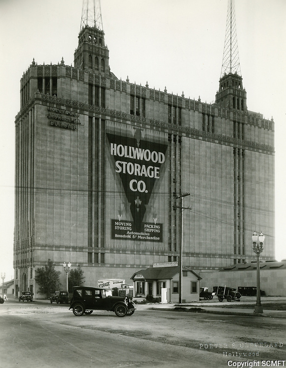 1930 Hollywood Storage Building at 1025 N. Highland Ave.