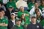 Marshall Thundering Herd fans look on against the North Texas Mean Green during the 2nd half at Apogee Stadium in Denton, Texas on October 8, 2016. (Cooper Neill for The Herald-Dispatch)
