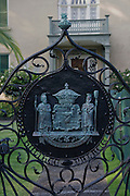 State Seal, Hulihee Palace, Kailua-Kona, Ialsnd of Hawaii,
