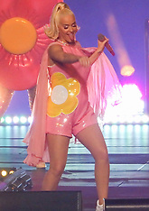 Katy Perry performs at the cricket - 7 March 2020