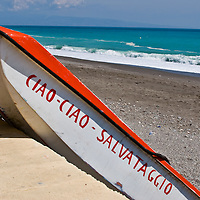 Ciao boat, Sicily, Italy