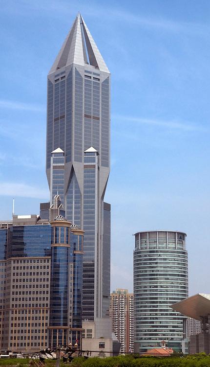 Skyscraper Building in Shanghai