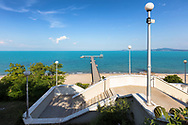 Stairway to the sea in Burgas