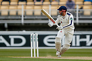 Yorkshire Jonny Bairstow  during the Specsavers County Champ Div 1 match between Warwickshire County Cricket Club and Yorkshire County Cricket Club at Edgbaston, Birmingham, United Kingdom on 24 April 2016. Photo by Simon Davies.