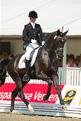 Pundsack Marita (GER) - QC Flamboyant<br /> FEI World Dressage Championships for Young Horses<br /> Internationales Dressur- und Springfestival - Verden 2014<br /> © Dirk Caremans