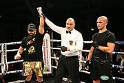 Boxen: Boxing Event by GWS Security, Cloppenburg, 19.10.2019<br /> IBF-Europameisterschaft, Cruisergewicht: Kambis Rahmani (GER) - Ante Siljeg (CRO)<br /> © Torsten Helmke