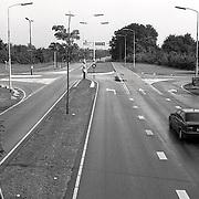 NLD/Huizen/19930911 - Huizerdag 1993 Huizen, randweg - Gooilandweg hoogteaanzicht