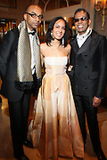 l to r: Craig Anthony, Guest and B. Michaels at The Fifth Annual Grace in Winter Gala honoring Susan Taylor, Kephra Burns, Noel Hankin and Moet Hennessey USA and benfiting The Evidence Dance Company held at The Plaza Hotel on February 3, 2009 in New York City.