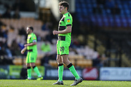 Forest Green Rovers Paul Digby(20) during the EFL Sky Bet League 2 match between Port Vale and Forest Green Rovers at Vale Park, Burslem, England on 23 March 2019.