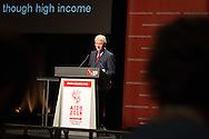20th International AIDS Conference (AIDS 2014). International AIDS Society, at the Exhibition Centre, Melbourne, Australia. <br /> WESS01.<br /> Former US President Bill Clinton during his speech; 'Put Patients Health First to Improve Outcomes and Programme Efficienty'.<br /> Photo: International AIDS Society/Steve Forrest