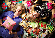 Julie and Megan of Pillow Talk, photographed for Eugene Magazine