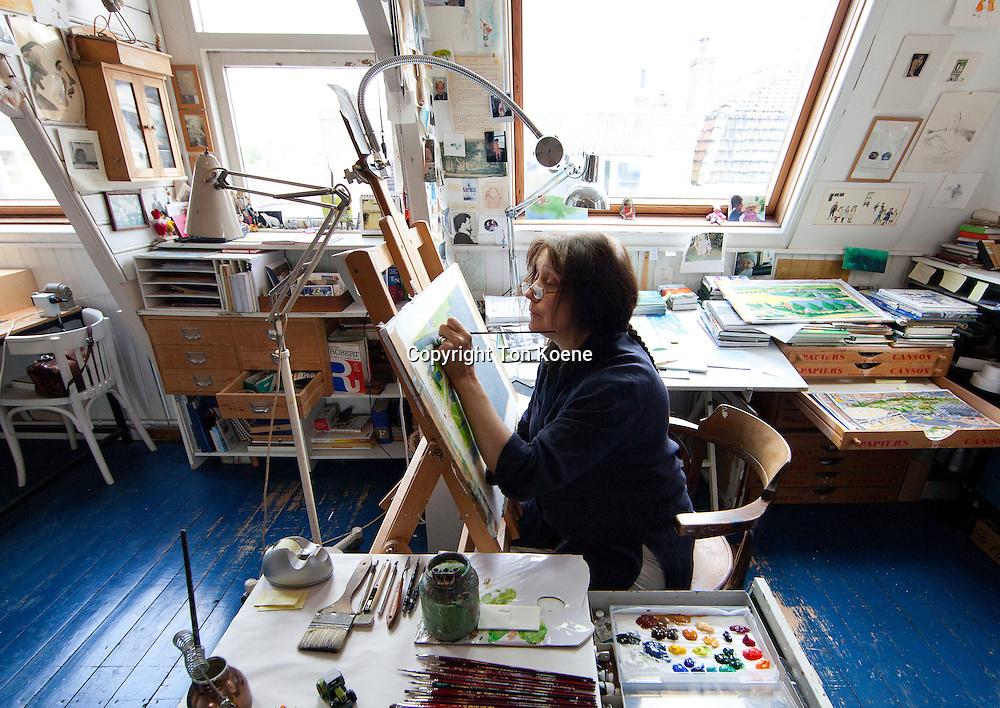 Dutch illustrator Charlotte Demanton