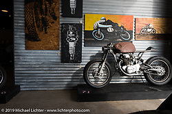 Friday daytime set-up before the grand opening that evening of the Handbuilt Motorcycle Show. Austin, TX. April 10, 2015.  Photography ©2015 Michael Lichter.