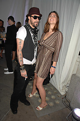 A J McLEAN from the Backstreet Boys and ELIZA PELHAM at the Tanqueray No.TEN cocktail party held at No1 Piazza, Covent Garden, London on 10th June 2008.<br /><br />NON EXCLUSIVE - WORLD RIGHTS