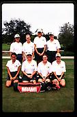 1998 Hurricanes Women's Golf