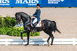 MINDERHOUD Hans Peter (NED), Glock's  Dream Boy N.O.P.<br /> Tryon - FEI World Equestrian Games™ 2018<br /> Grand Prix de Dressage Teamwertung und Einzelqualifikation<br /> 12. September 2018<br /> © www.sportfotos-lafrentz.de/Stefan Lafrentz