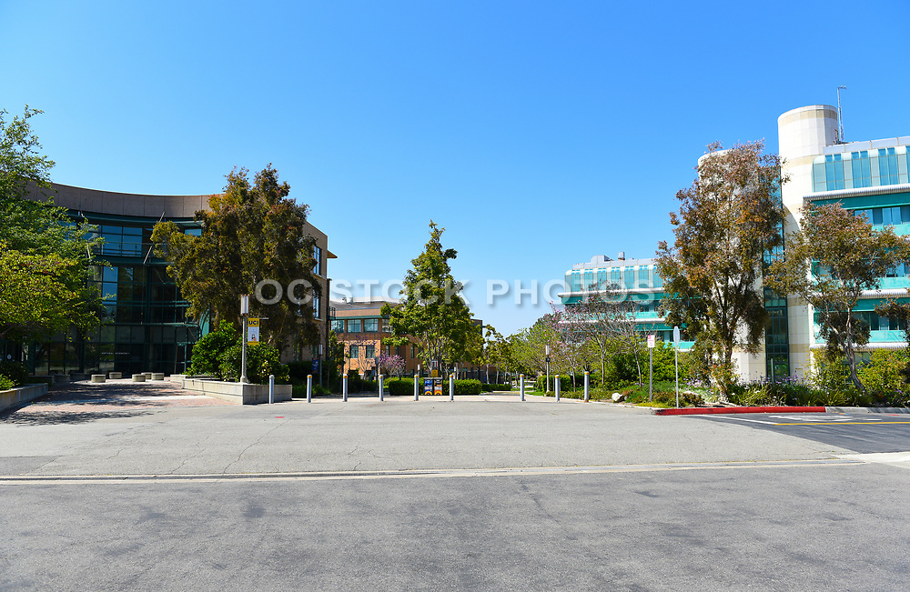 Natural Sciences Building and McGaugh Hall on the Campus of the University of California Irvine